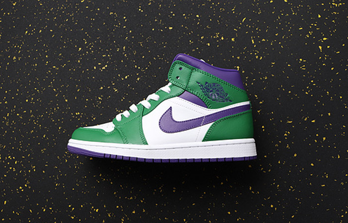 Jordan 1 Mid Green Purple 554724-300 02
