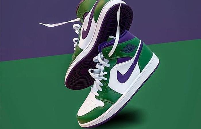Jordan 1 Mid Green Purple 554724-300 03