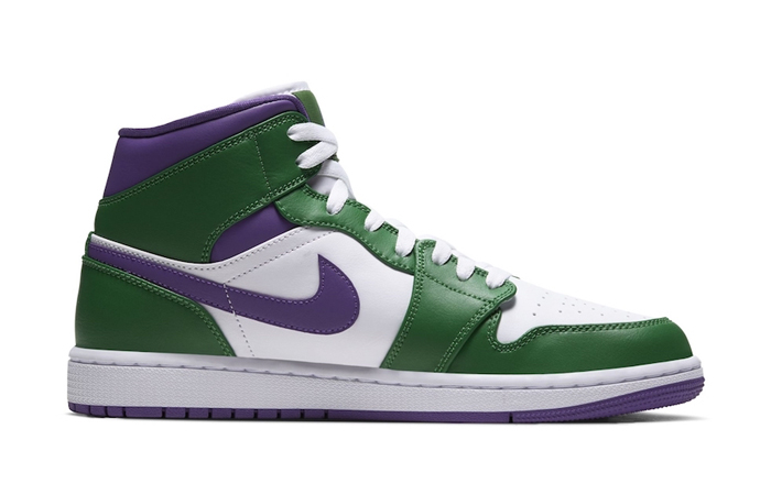 Jordan 1 Mid Green Purple 554724-300 05