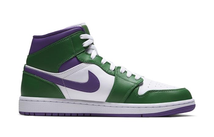 Jordan 1 Mid Green Purple 554724-300 05