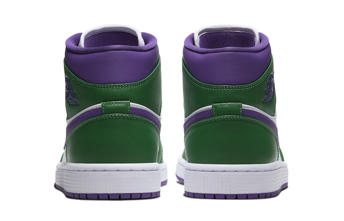 Jordan 1 Mid Green Purple 554724-300 07