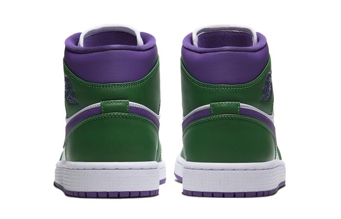 Jordan 1 Mid Green Purple 554724-300 07