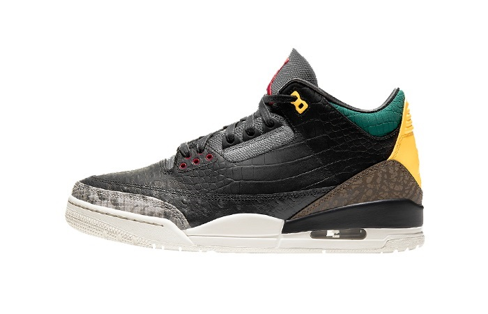 Jordan 3 SE Animal Instinct 2.0 Snakeskin Black CV3583-003 01