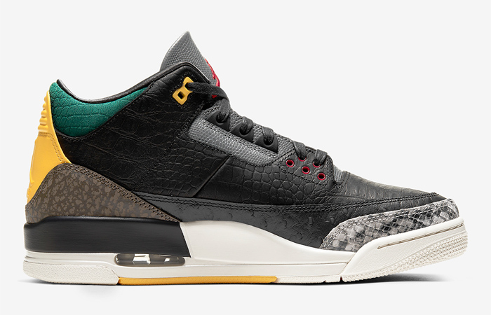 Jordan 3 SE Animal Instinct 2.0 Snakeskin Black CV3583-003 03