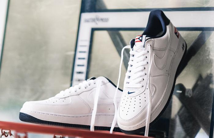 Nike Air Force 1 Puerto Rico White Navy CJ1386-100 04
