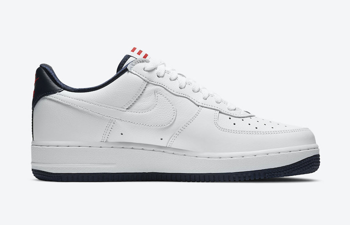 Nike Air Force 1 Puerto Rico White Navy CJ1386-100 06