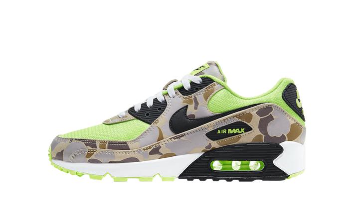 Nike Air Max 90 Duck Camo Green Volt CW4039-300 01