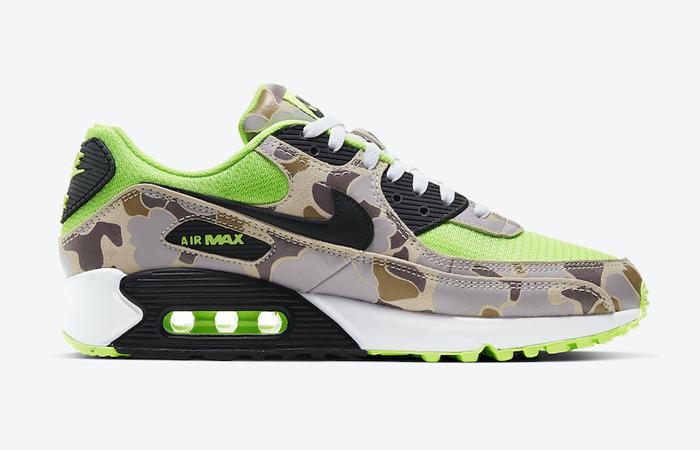 Nike Air Max 90 Duck Camo Green Volt CW4039-300 03