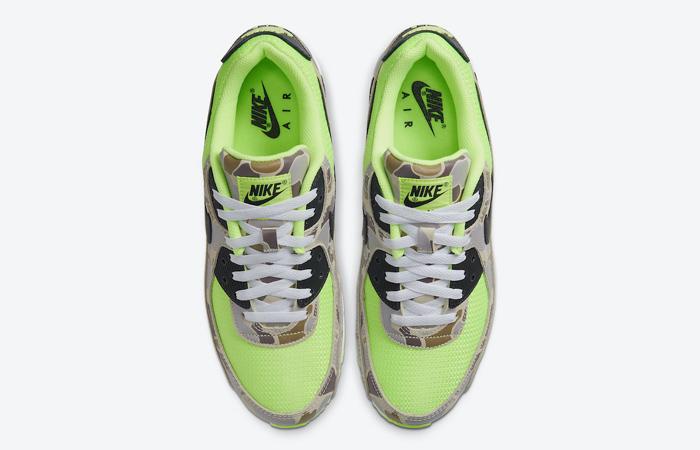 Nike Air Max 90 Duck Camo Green Volt CW4039-300 04
