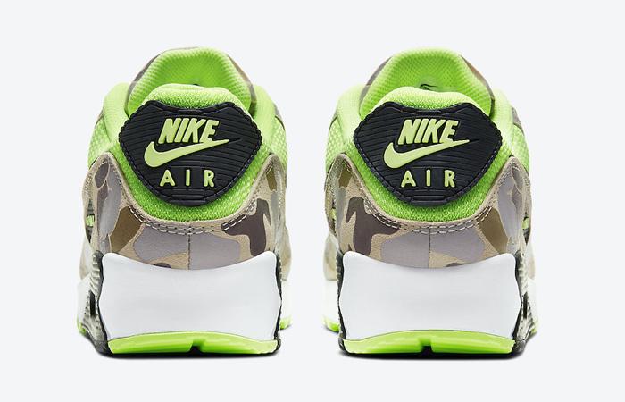 Nike Air Max 90 Duck Camo Green Volt CW4039-300 05