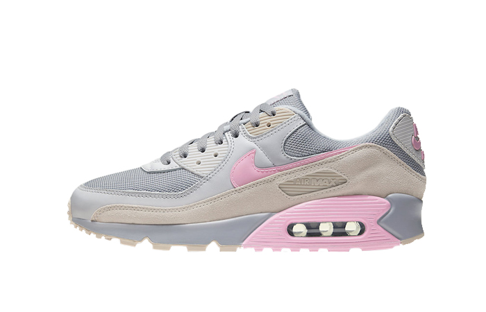 Nike Air Max 90 Wolf Grey Pink CW7483-001 01