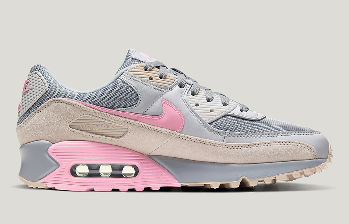 Nike Air Max 90 Wolf Grey Pink CW7483-001 03