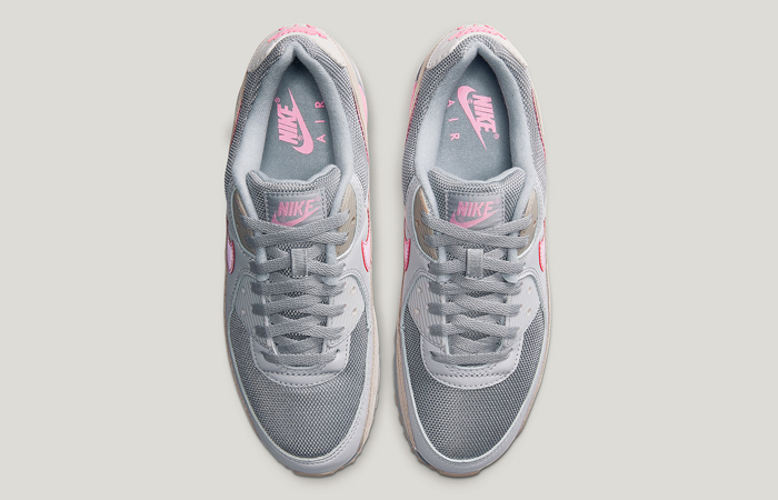 Nike Air Max 90 Wolf Grey Pink CW7483-001 04