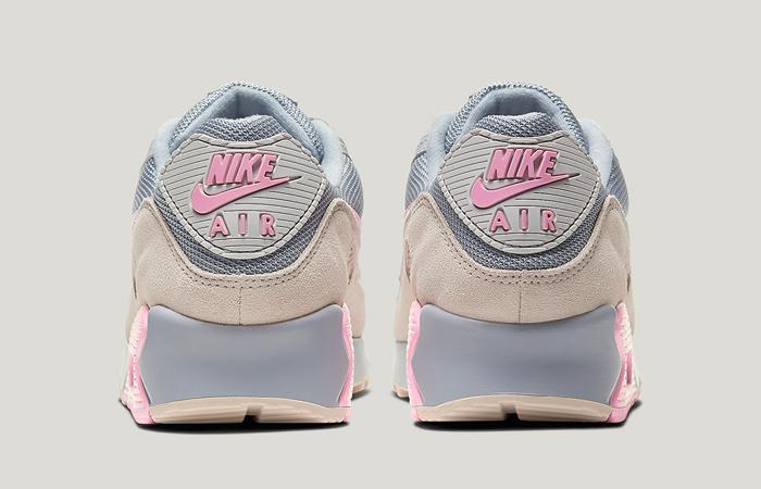 Nike Air Max 90 Wolf Grey Pink CW7483-001 05