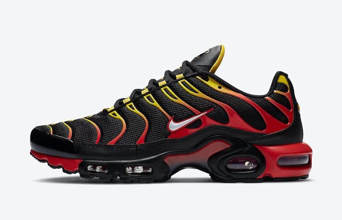 Nike Air Max Plus Go Gredient Has Received A Firey Outfit ft