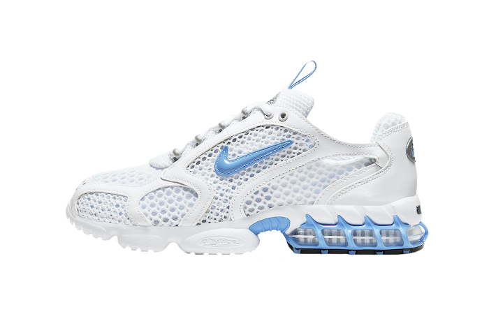 Nike Air Zoom Spiridon Cage 2 White Indigo CD3613-100 01