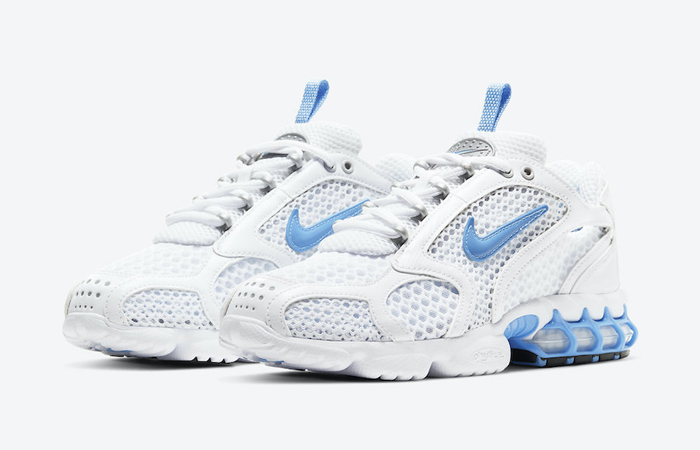 Nike Air Zoom Spiridon Cage 2 White Indigo CD3613-100 02