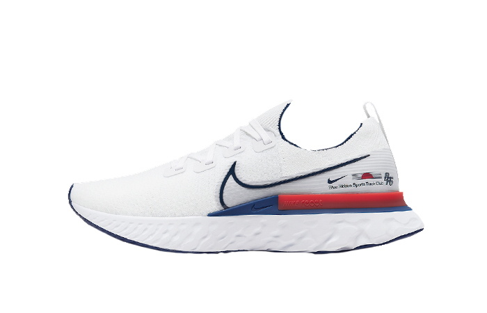 Nike React Infinity Run Blue Ribbon Sports White Red CW7597-100 01