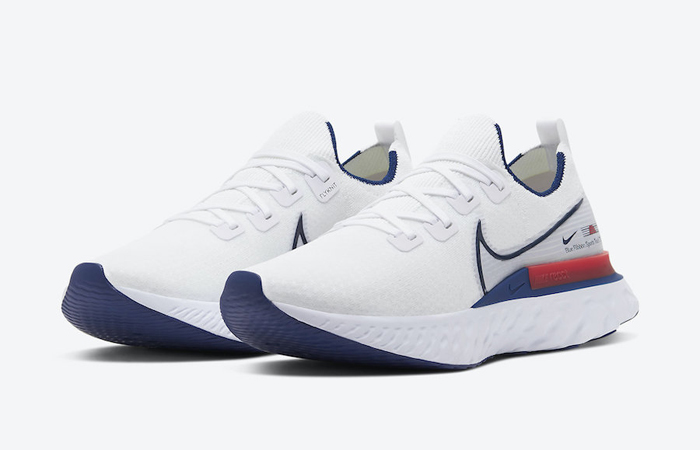 Nike React Infinity Run Blue Ribbon Sports White Red CW7597-100 02
