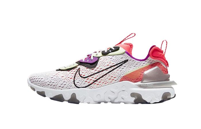 Nike React Vision White Red CD4373-102 01