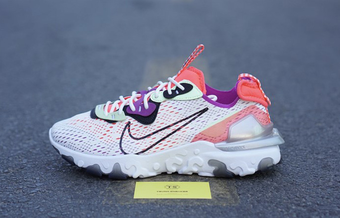 Nike React Vision White Red CD4373-102 02