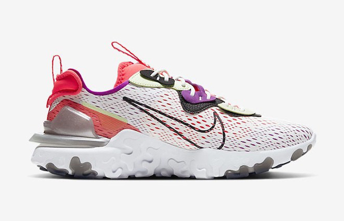 Nike React Vision White Red CD4373-102 06