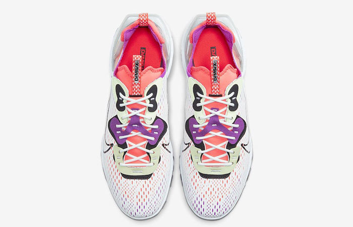 Nike React Vision White Red CD4373-102 07