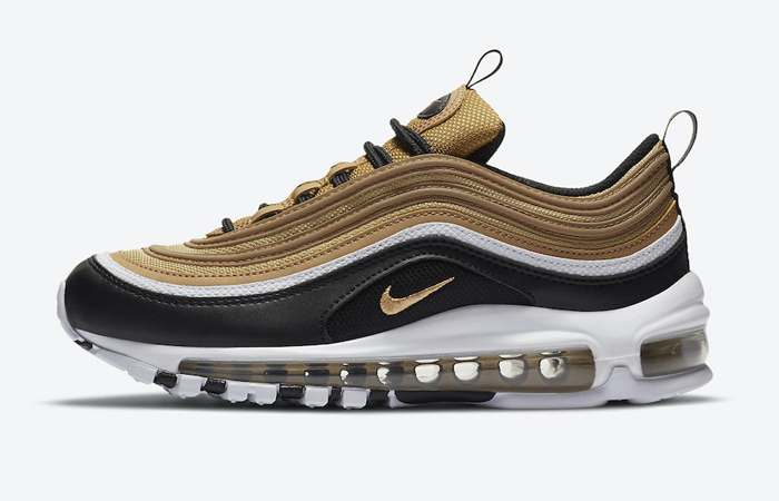 Official Look At The Nike Air Max 97 Black Metalic Gold ft