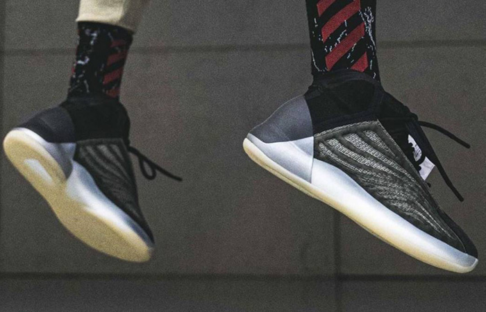 On Foot Images Of adidas Yeezy QNTM Barium Has Been unveiled ft