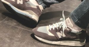 Ronnie Fieg Unveils KITH And New Balance's New Collaboration Steel Blue 01