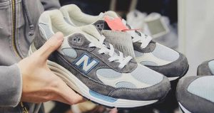 Ronnie Fieg Unveils KITH And New Balance's New Collaboration Steel Blue 03