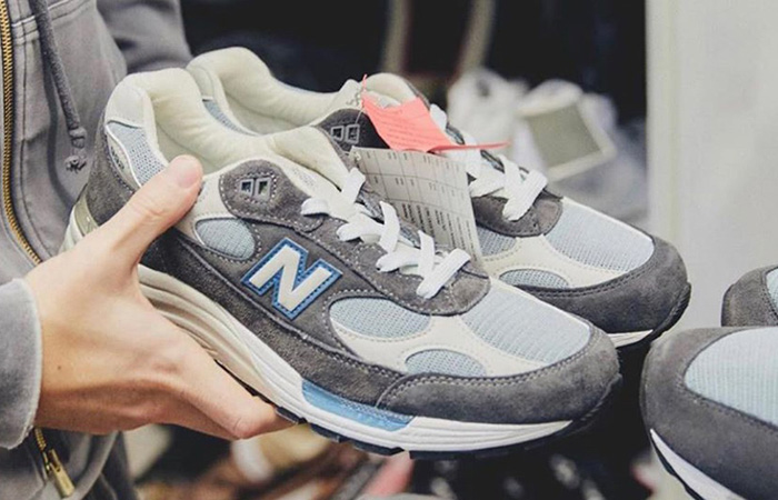 Ronnie Fieg Unveils KITH And New Balance's New Collaboration Steel Blue ft