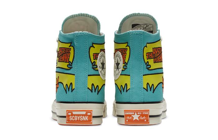Scooby-Doo Converse Chuck 70 Hi Sulfur Spring 169072C 05