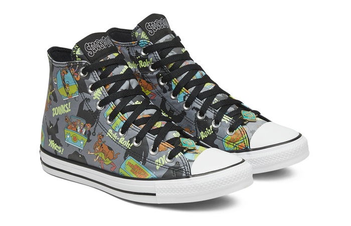Scooby-Doo Converse Chuck Taylor All Star High Top 169073C 02