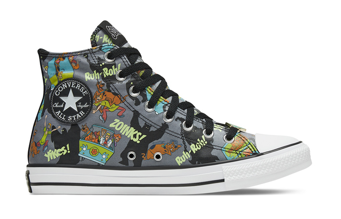 Scooby-Doo Converse Chuck Taylor All Star High Top 169073C 03