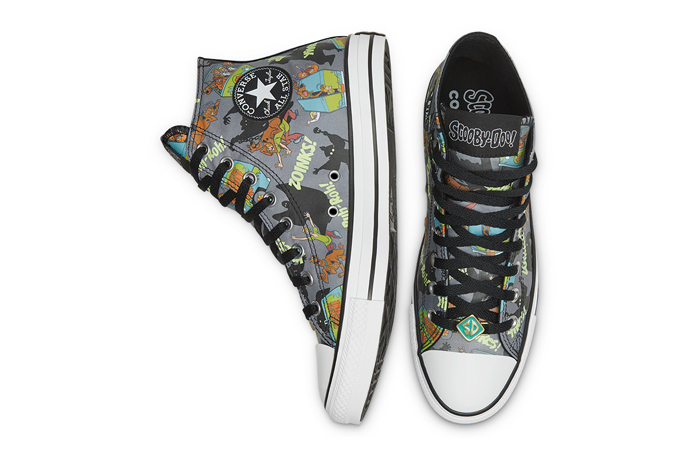 Scooby-Doo Converse Chuck Taylor All Star High Top 169073C 04