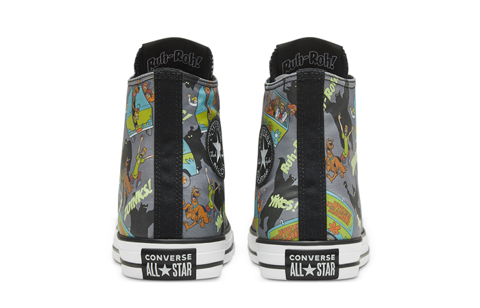 Scooby-Doo Converse Chuck Taylor All Star High Top 169073C 05