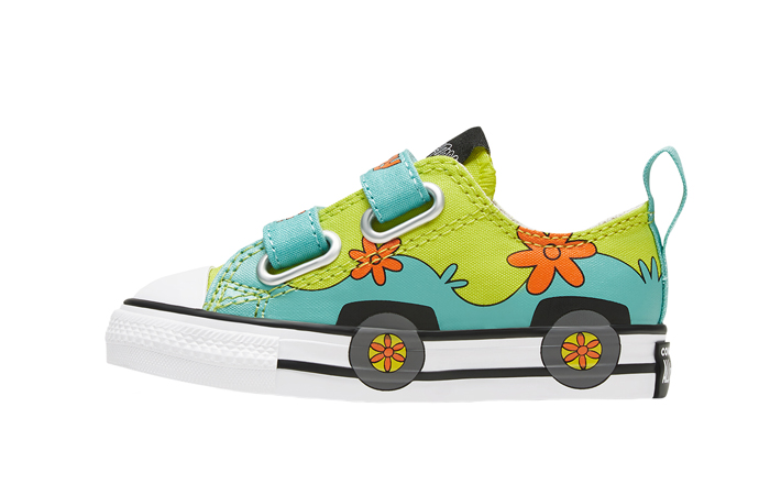 Scooby-Doo Converse Toddler Easy On Chuck Taylor All Star Sulfur Spring 769075C 01