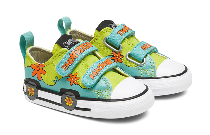 Scooby-Doo Converse Toddler Easy On Chuck Taylor All Star Sulfur Spring 769075C 02