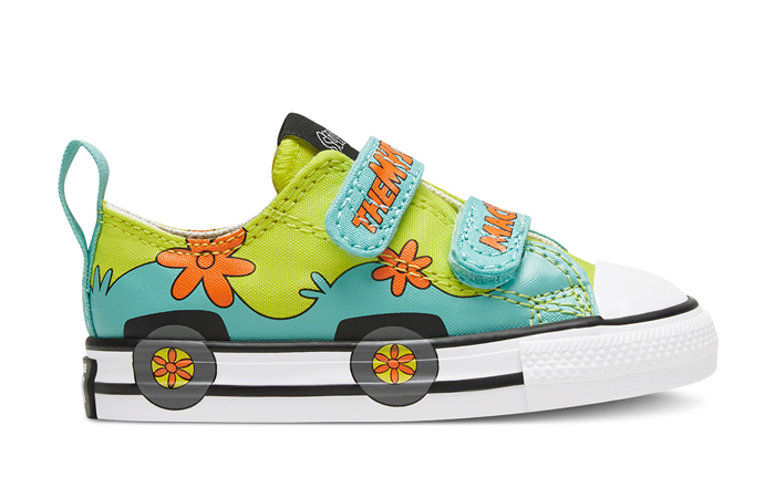 Scooby-Doo Converse Toddler Easy On Chuck Taylor All Star Sulfur Spring 769075C 03