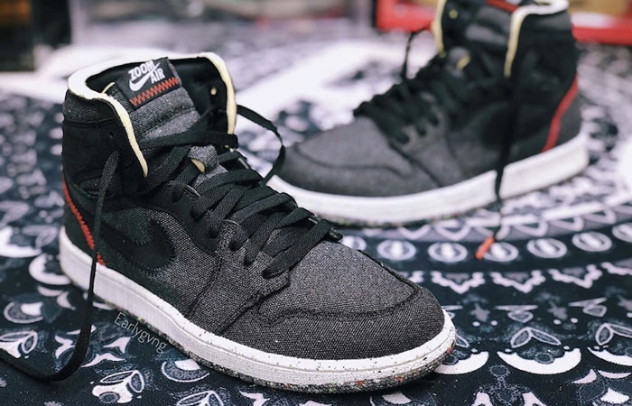 The Air Jordan 1 High Zoom Space Hippie Created From Recycled Materials ft