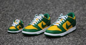"""The Nike Dunk Low """"Brazil"""" Will Be Releases With Full Family Sizing 01"""