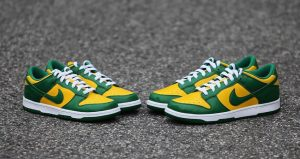 """The Nike Dunk Low """"Brazil"""" Will Be Releases With Full Family Sizing 02"""
