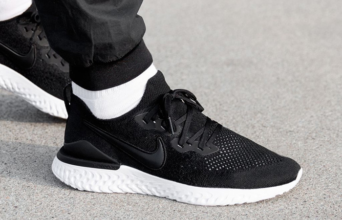 The Nike Epic React Flyknit 2 Core Black Is Only £65 at Nike! ft