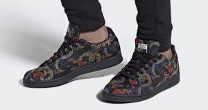 The adidas Stan Smith Recieves A Dragon Print To Celebrate Dragon Boat Festival 01