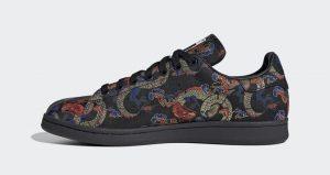The adidas Stan Smith Recieves A Dragon Print To Celebrate Dragon Boat Festival
