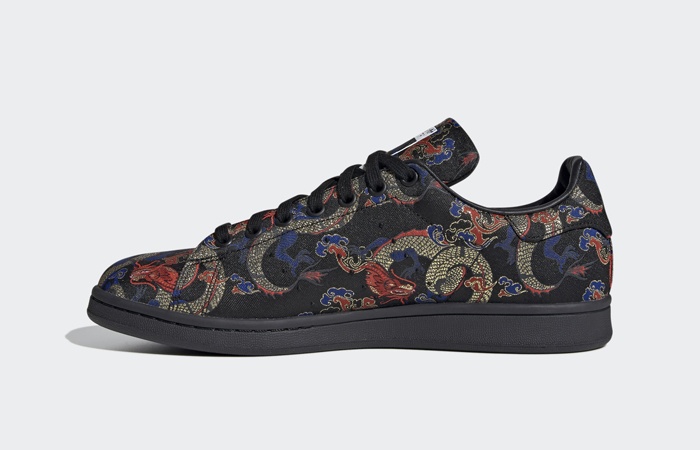 The adidas Stan Smith Receives A Dragon Print To Celebrate Dragon Boat Festival ft
