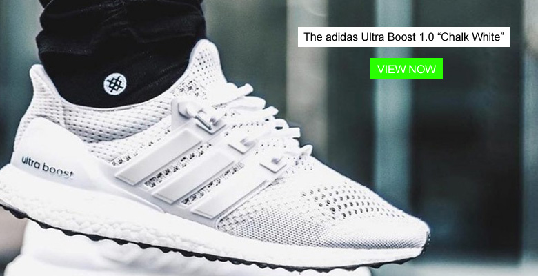 "The adidas Ultra Boost 1.0 ""Chalk White"" Returning This Month"