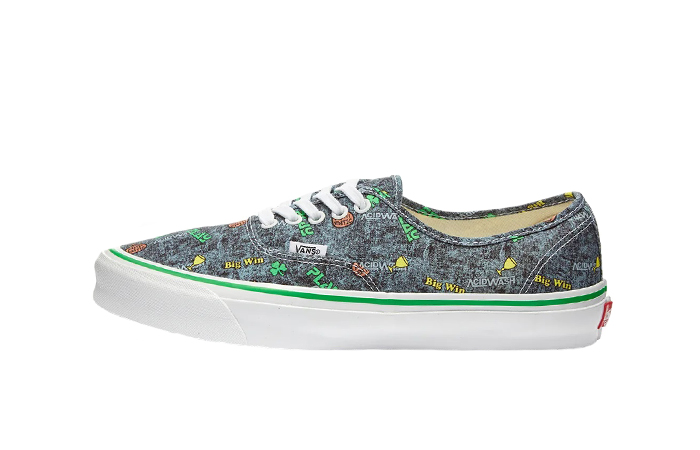 Vans Fergus Purcell Authentic LX Acid Wash Grey VN0A4BV90621 01