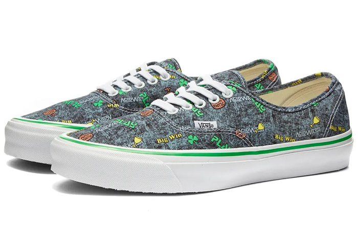 Vans Fergus Purcell Authentic LX Acid Wash Grey VN0A4BV90621 03
